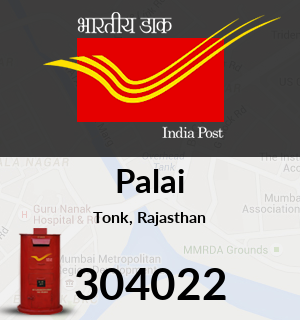 Palai Pincode - 304022