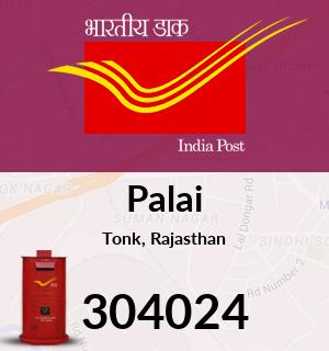 Palai Pincode - 304024