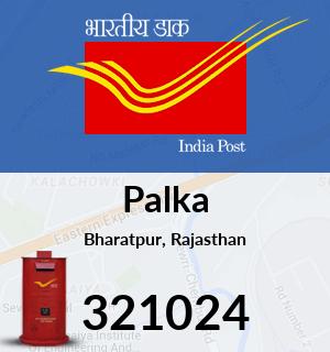 Palka Pincode - 321024