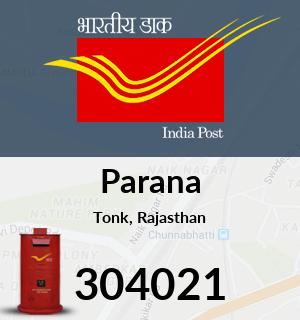 Parana Pincode - 304021