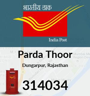 Parda Thoor Pincode - 314034