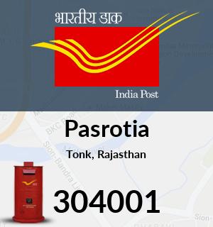 Pasrotia Pincode - 304001