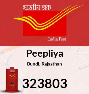 Peepliya Pincode - 323803