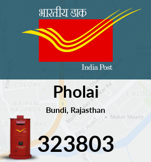 Pholai Pincode - 323803