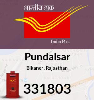 Pundalsar Pincode - 331803