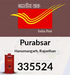 Purabsar Pincode - 335524