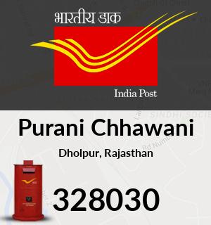 Purani Chhawani Pincode - 328030