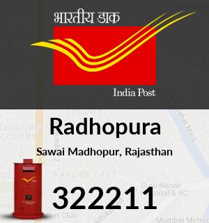 Radhopura Pincode - 322211