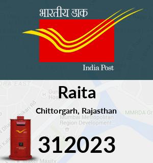 Raita Pincode - 312023