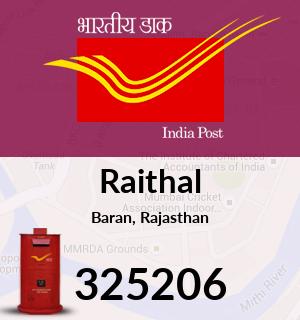 Raithal Pincode - 325206
