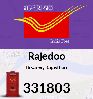 Rajedoo Pincode - 331803