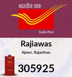 Rajiawas Pincode - 305925