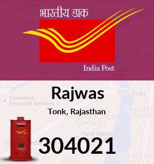 Rajwas Pincode - 304021