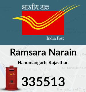 Ramsara Narain Pincode - 335513