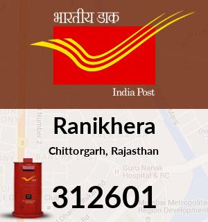 Ranikhera Pincode - 312601