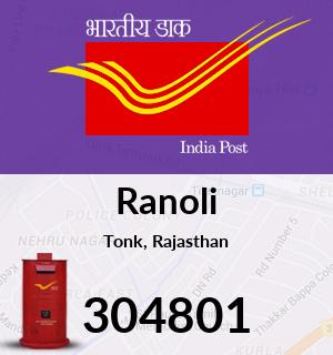 Ranoli Pincode - 304801