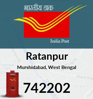 Ratanpur Pincode - 742202