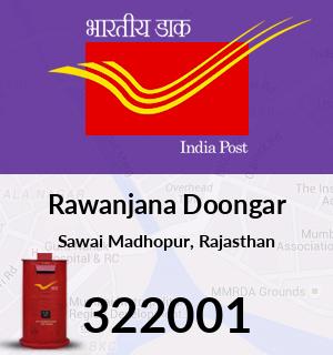 Rawanjana Doongar Pincode - 322001