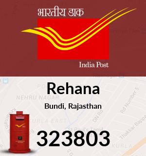 Rehana Pincode - 323803