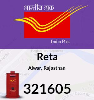 Reta Pincode - 321605