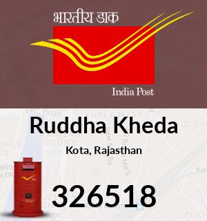 Ruddha Kheda Pincode - 326518