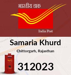 Samaria Khurd Pincode - 312023