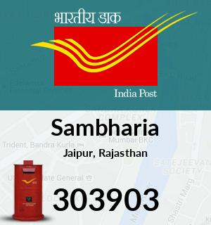 Sambharia Pincode - 303903