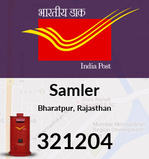 Samler Pincode - 321204