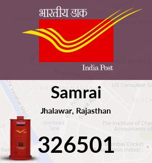 Samrai Pincode - 326501