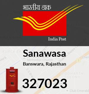 Sanawasa Pincode - 327023