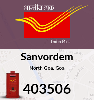 Sanvordem Pincode - 403506