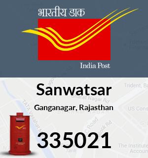 Sanwatsar Pincode - 335021
