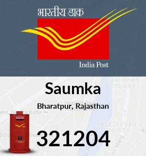 Saumka Pincode - 321204