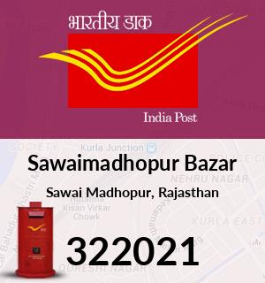 Sawaimadhopur Bazar Pincode - 322021