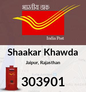 Shaakar Khawda Pincode - 303901
