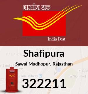 Shafipura Pincode - 322211
