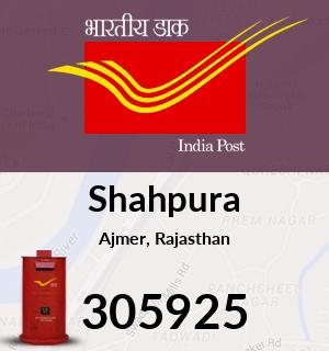 Shahpura Pincode - 305925