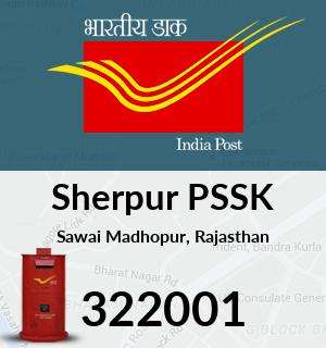 Sherpur PSSK Pincode - 322001