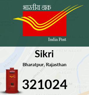 Sikri Pincode - 321024