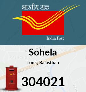 Sohela Pincode - 304021