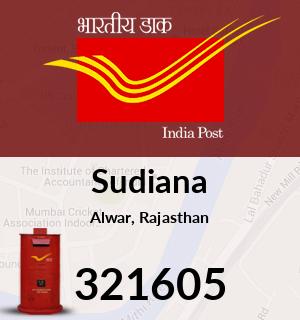 Sudiana Pincode - 321605