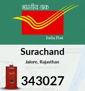 Surachand Pincode - 343027