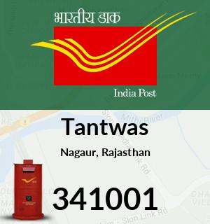Tantwas Pincode - 341001