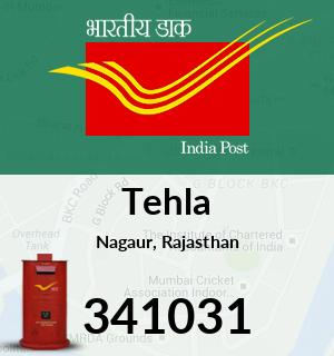 Tehla Pincode - 341031