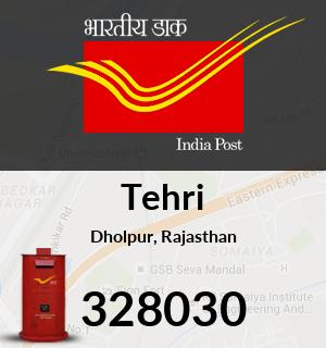 Tehri Pincode - 328030