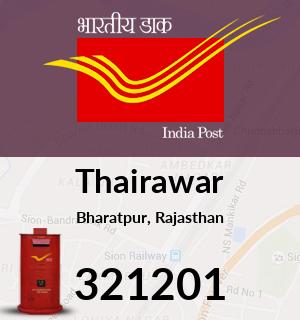Thairawar Pincode - 321201