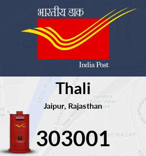 Thali Pincode - 303001