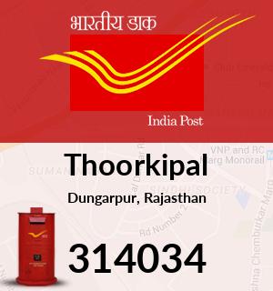 Thoorkipal Pincode - 314034