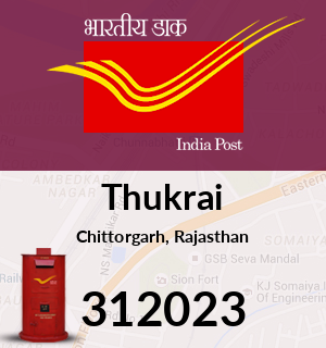 Thukrai Pincode - 312023