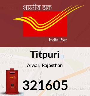Titpuri Pincode - 321605